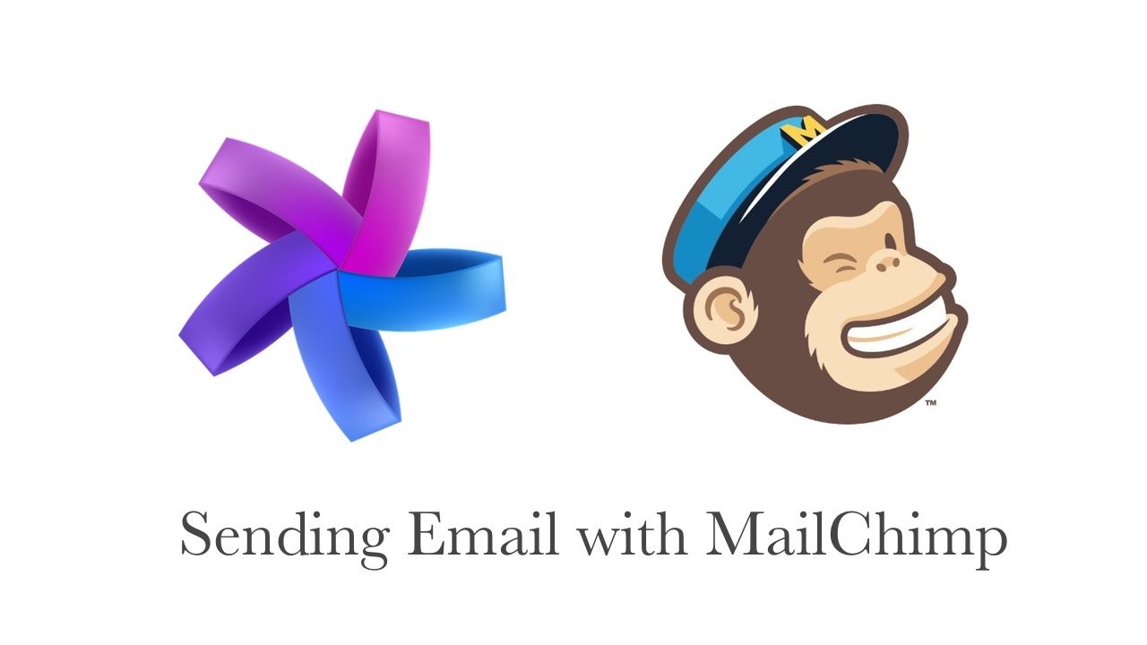 How to send email using MailChimp