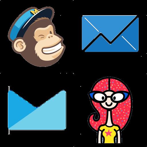 MailChimp ConvertKit Madmini Campaign Monitor Sendy