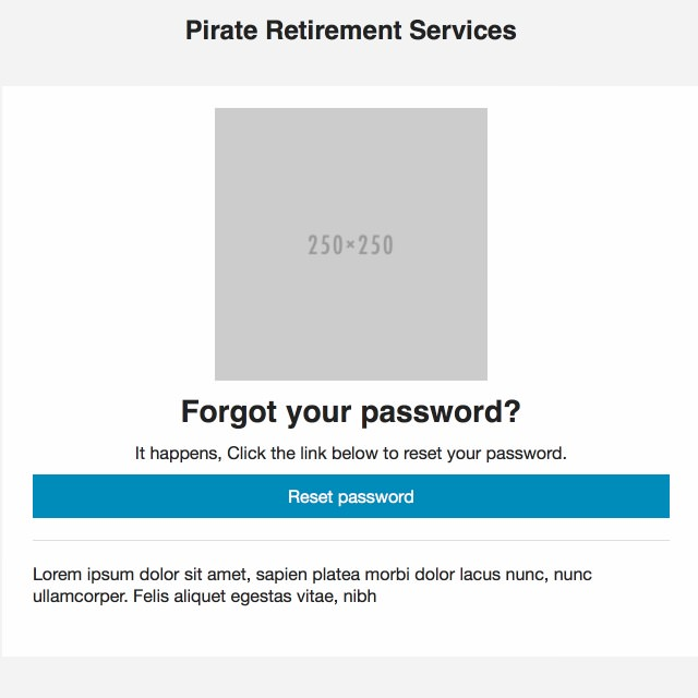 Password Email Template